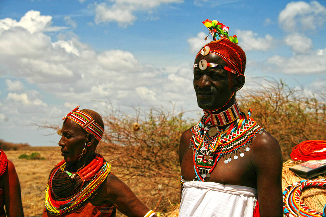Nothern Kenya People and Places_Samburu man and woman