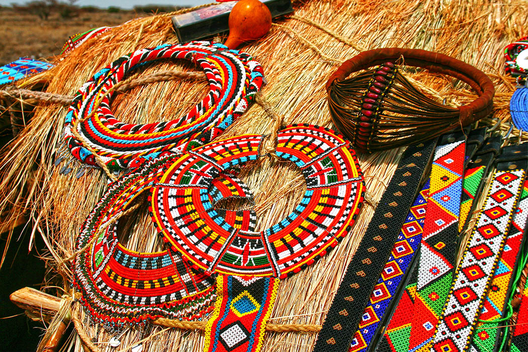 Nothern Kenya People and Places_Turkana beadwork
