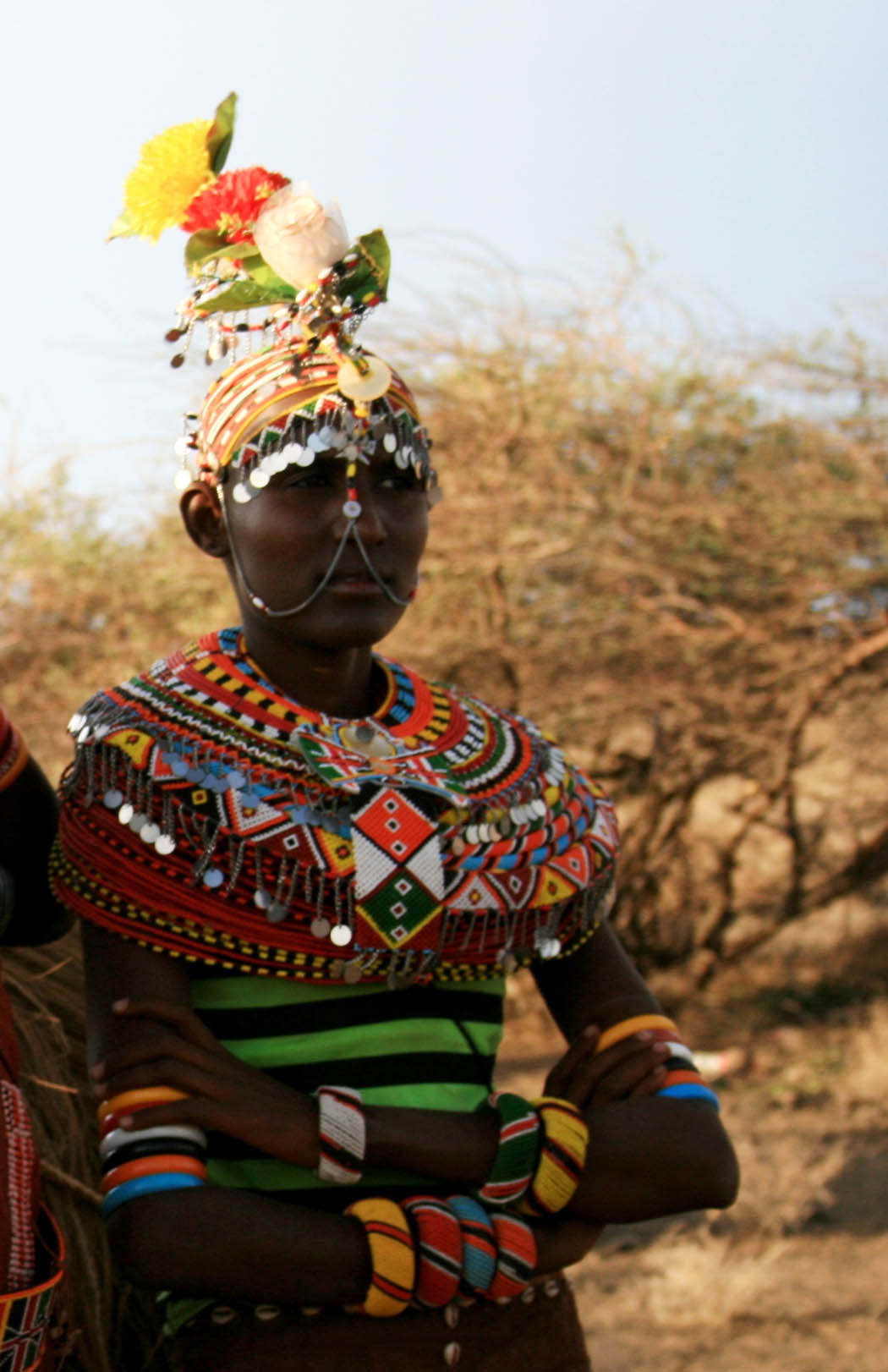 Nothern Kenya People and Places_Turkana girl