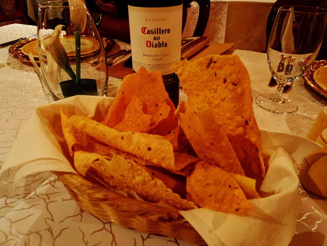 Bhandini Restaurant review_papadum