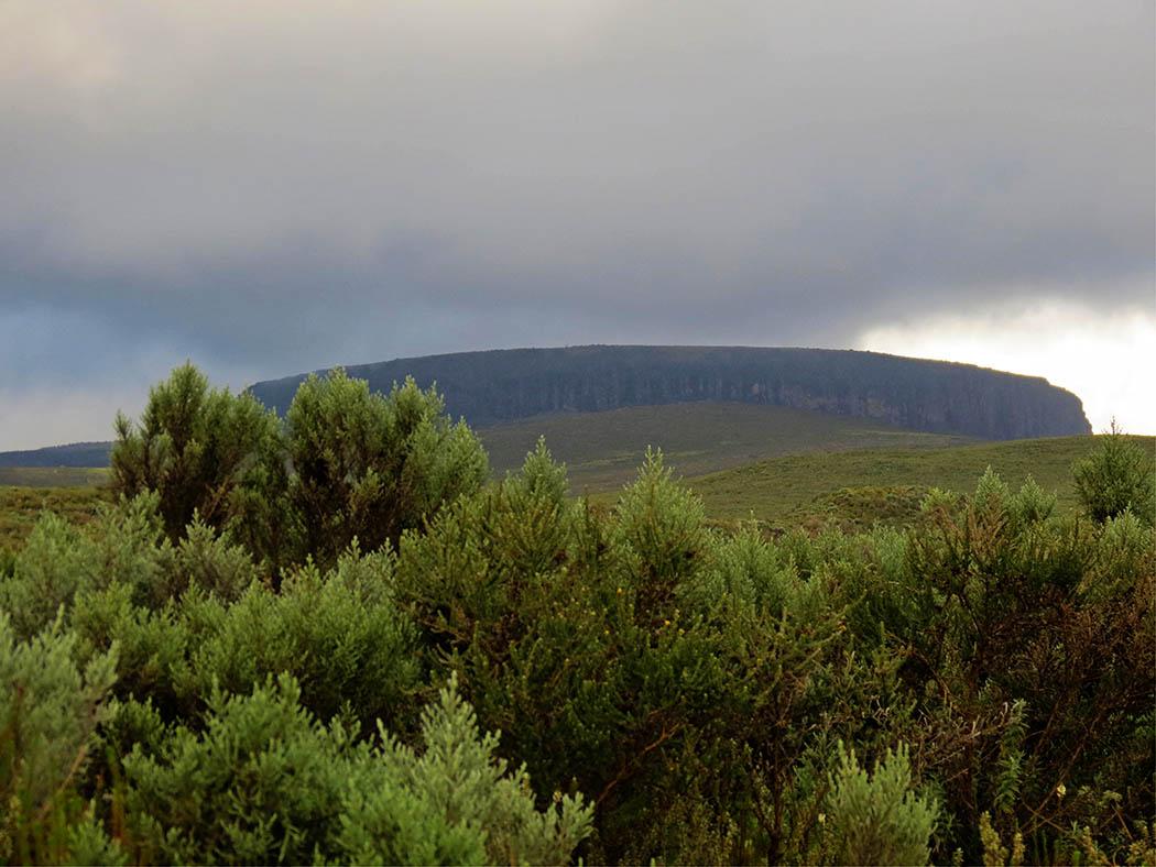 Mount Kenya_beginning hike Views 2