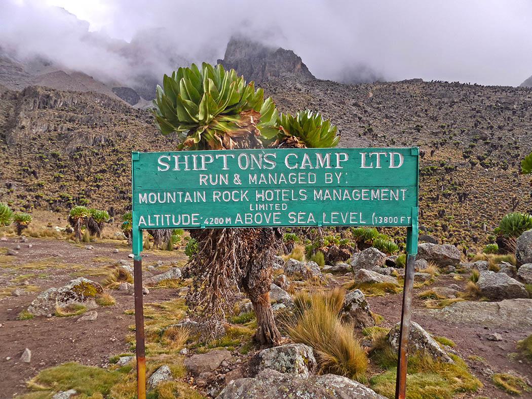 Mount Kenya_Shimpton's camp