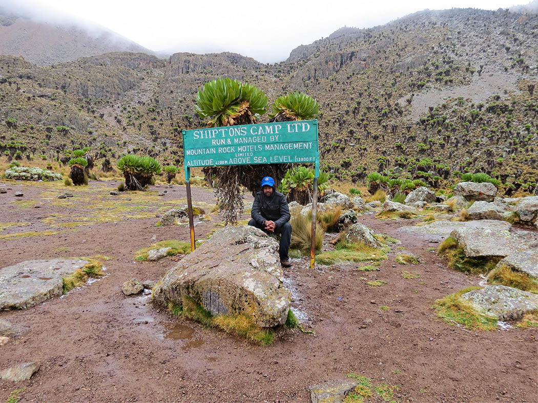 Mount Kenya_Shimpton's camp_brother