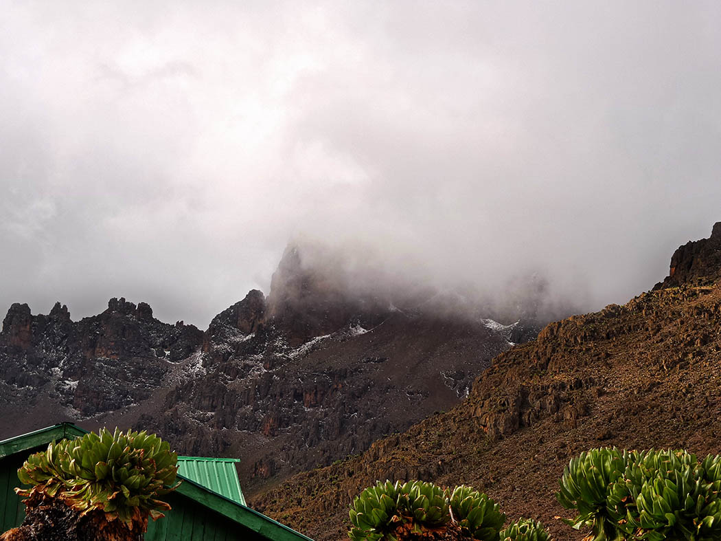 Mount Kenya_Shimpton's camp_view