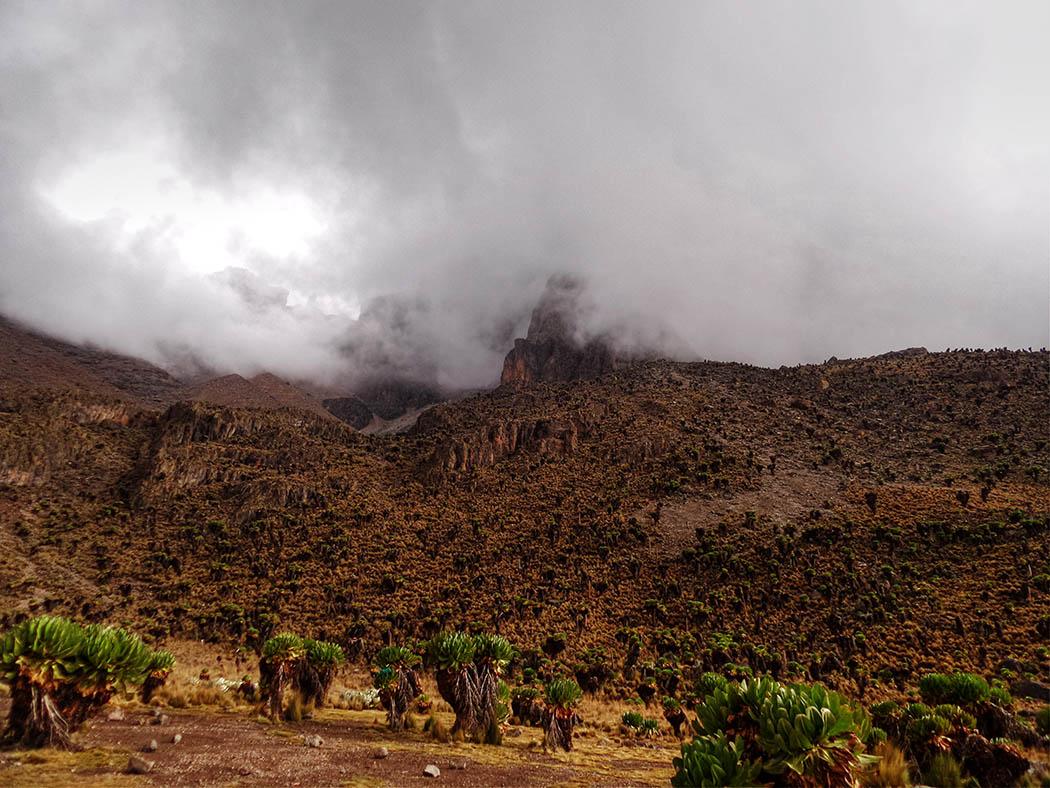 Mount Kenya_Shimpton's camp_view2