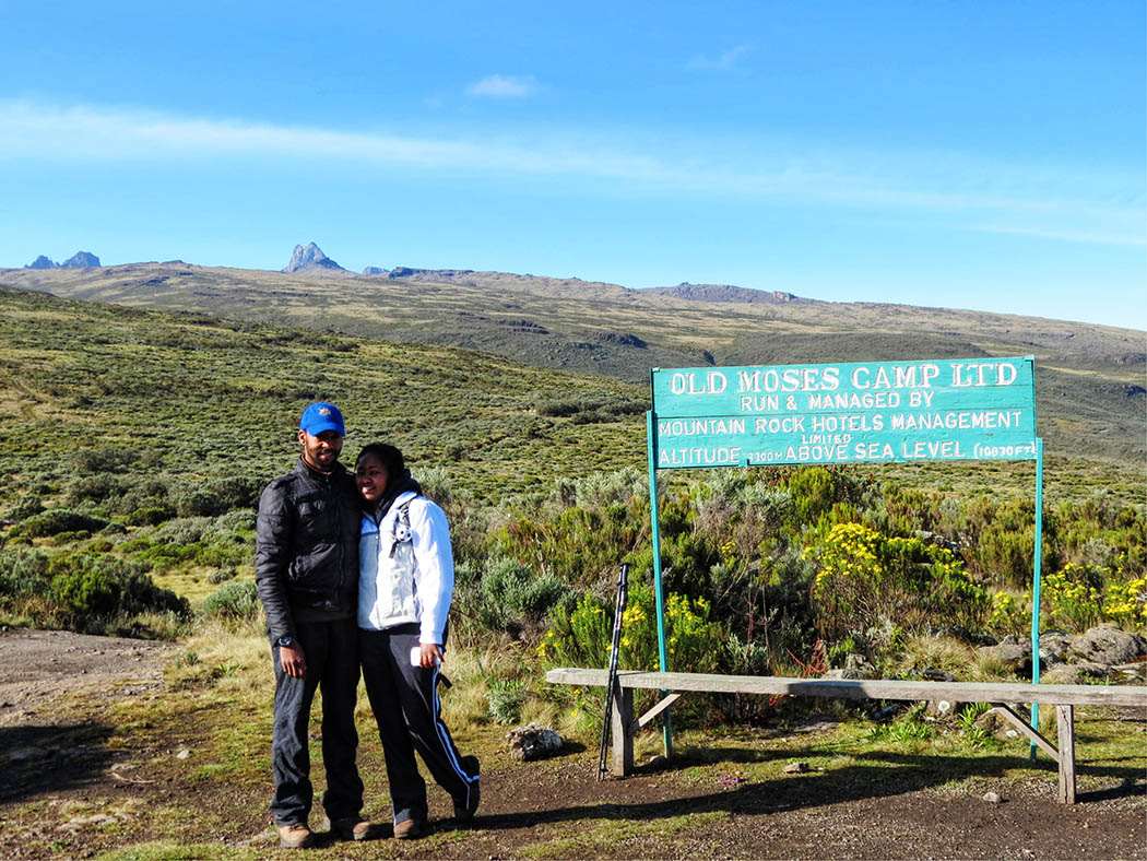 Mount Kenya_back at old Moses