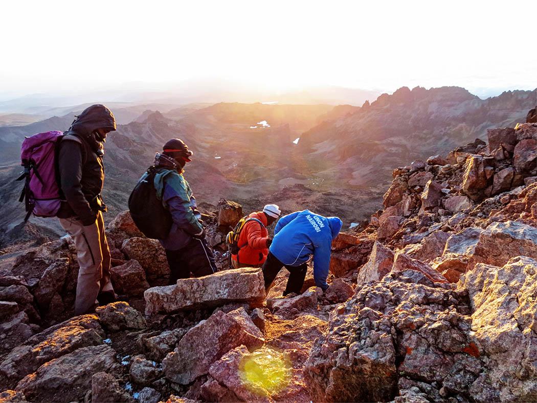 Mount Kenya_descent 2