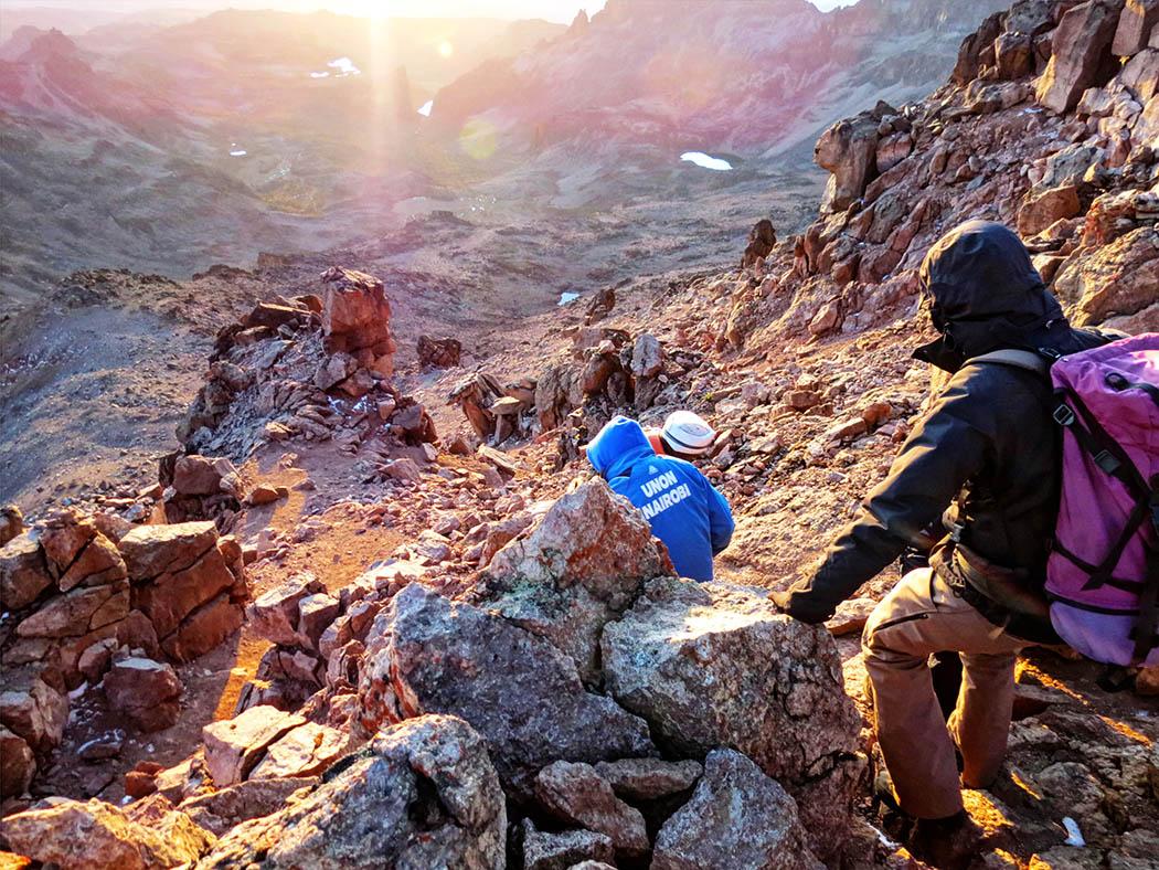 Mount Kenya_descent 3