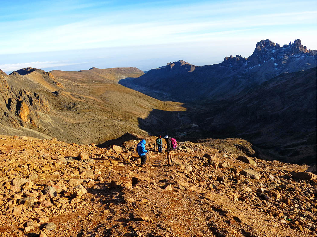 Mount Kenya_descent 5