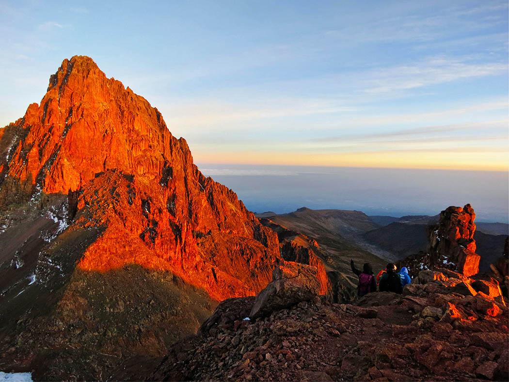 Mount Kenya_descent
