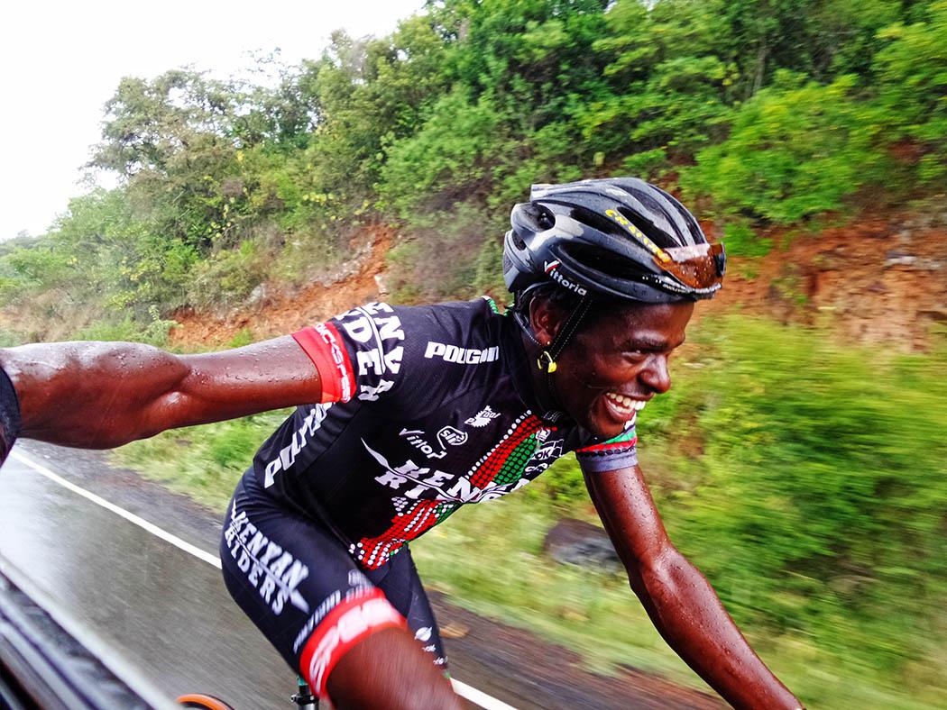 Unexpected Kenya_Kenyan Riders Mwangi