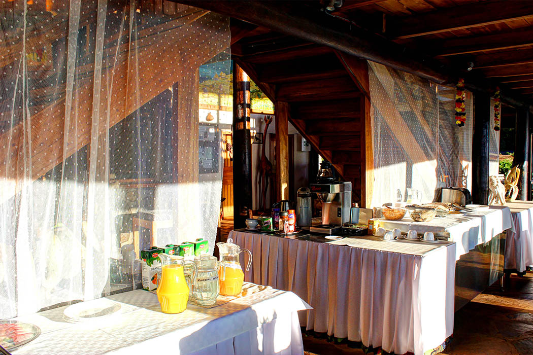 Kerio View Hotel_Breakfast layout