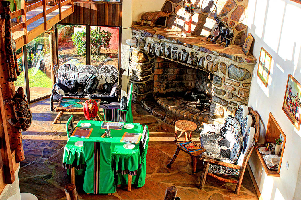 Kerio View Hotel_Fireplace1