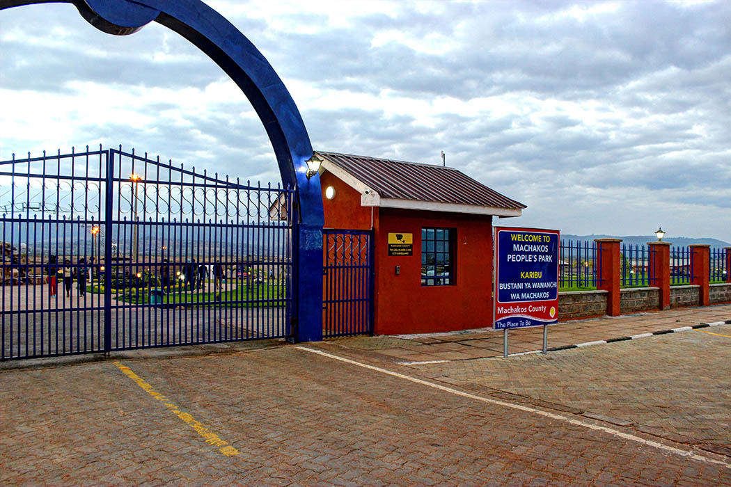 Machakos People's Park_Entrance