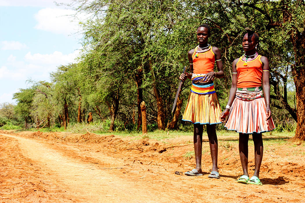 Sights & People from the North Rift_Pokot girls1