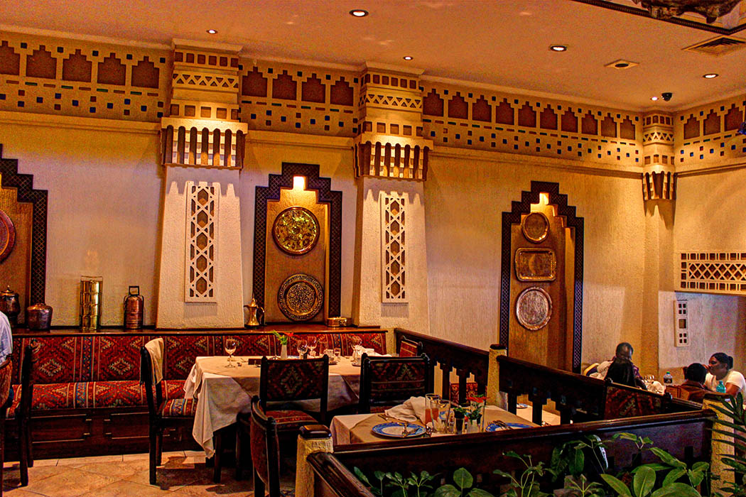 Cafe Maghreb-Decor