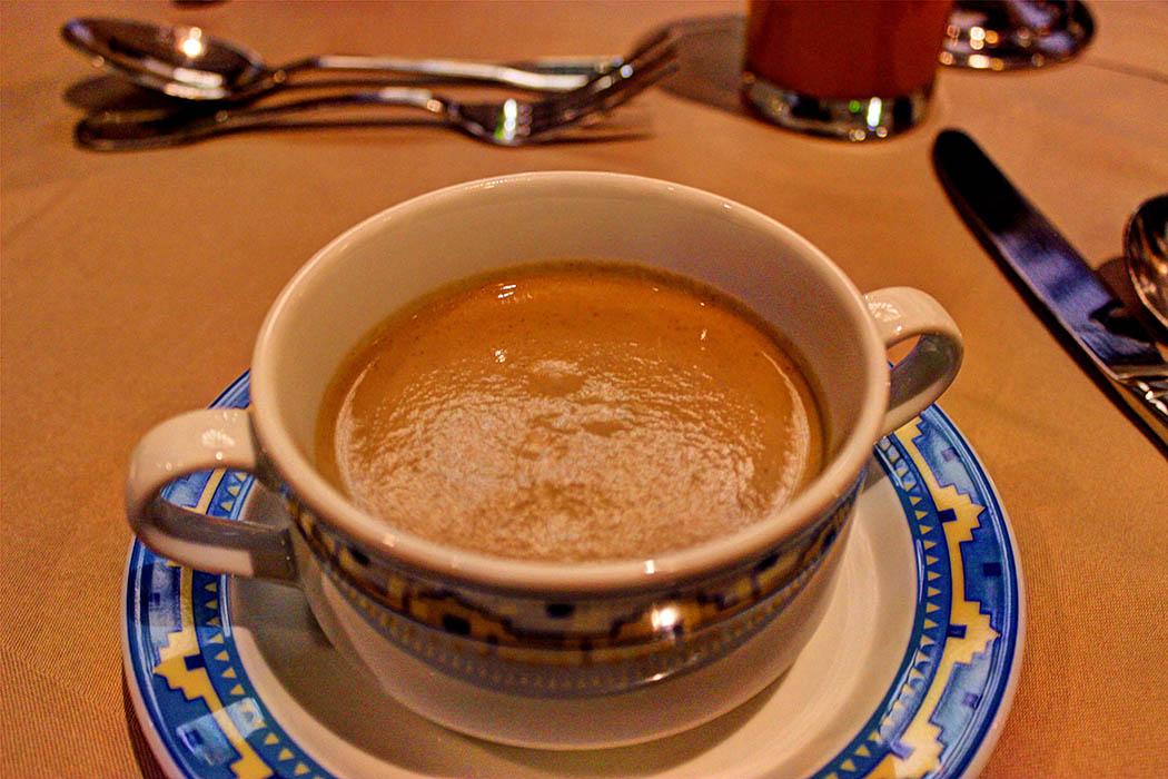 Cafe Maghreb-Mushroom Soup