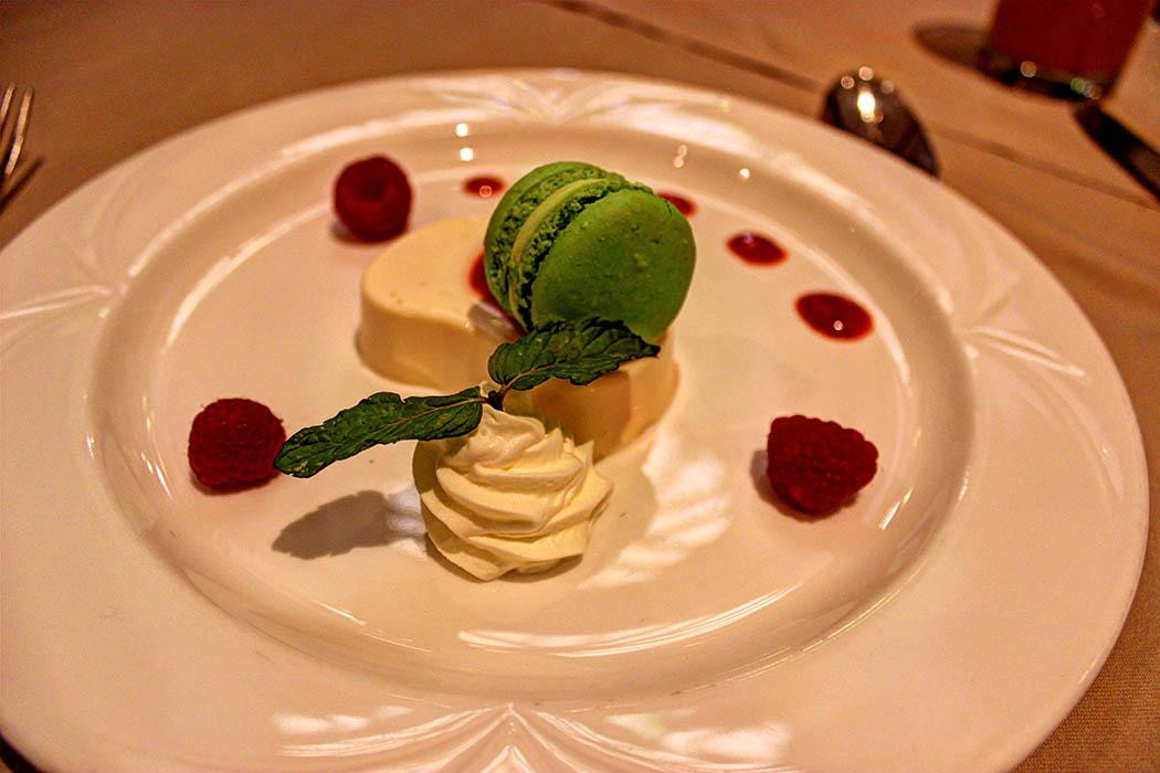 Cafe Maghreb-Vanilla panna cotta