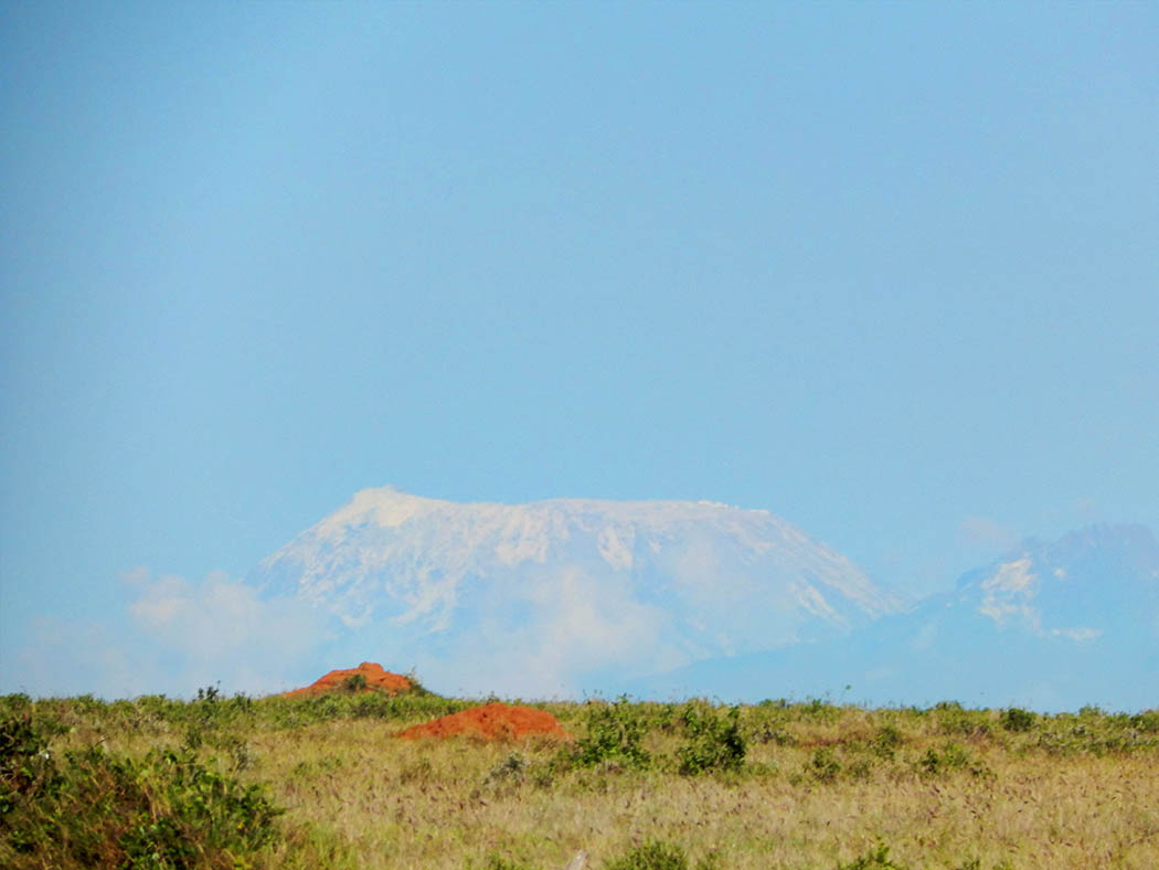 Taita Hills Wildlife Sanctuary_Mt kilimanjaro outline