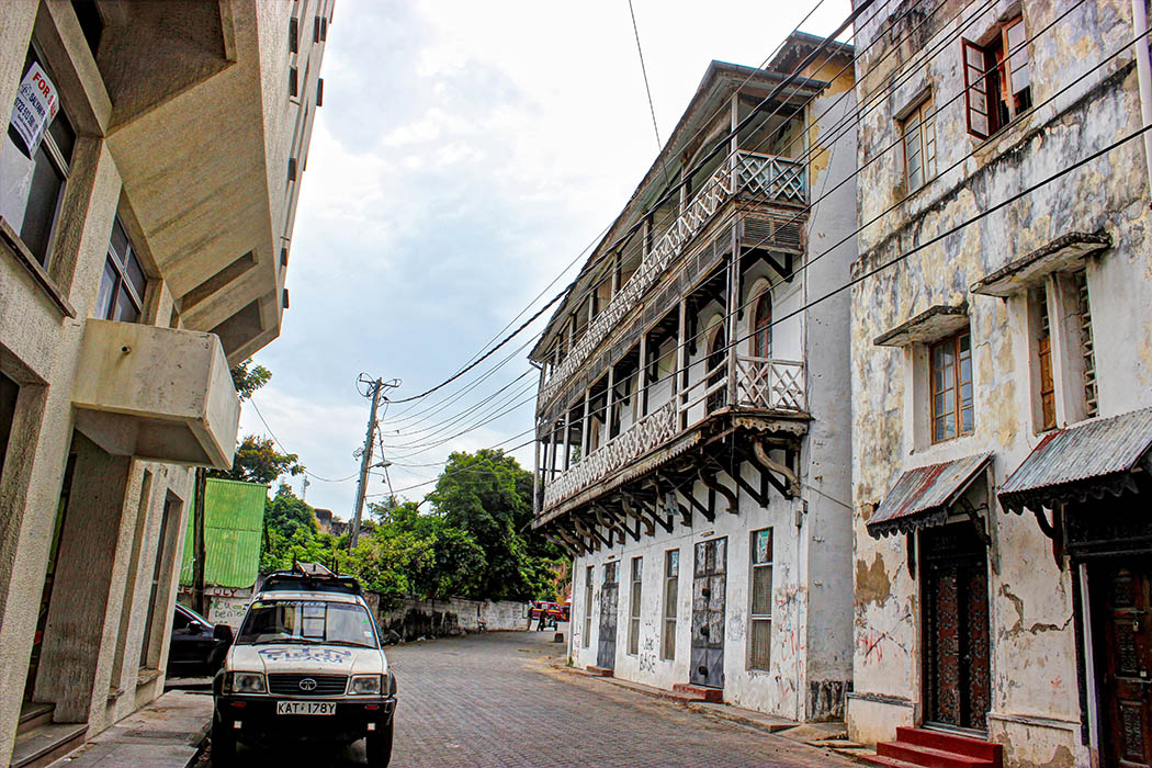 Mombasa Old Town_Path to Fort Jesus