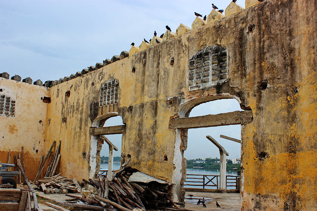 Mombasa Old Town_Ruins near harbour