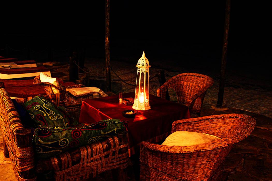 Sands at Nomad restaurant_Restaurant at night