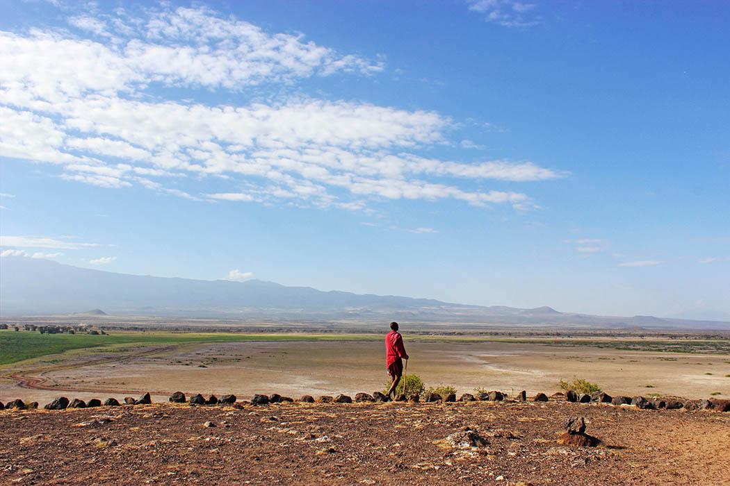 Amboseli National Park Maasai