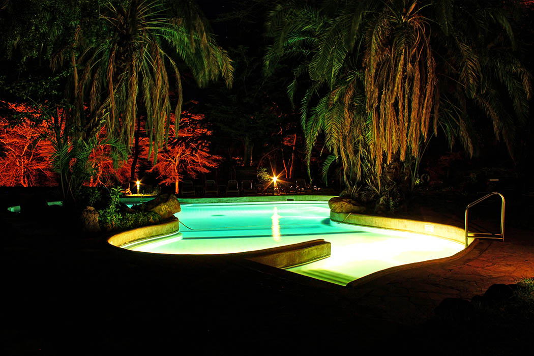 Amboseli Serena Safari Lodge_pool nightime