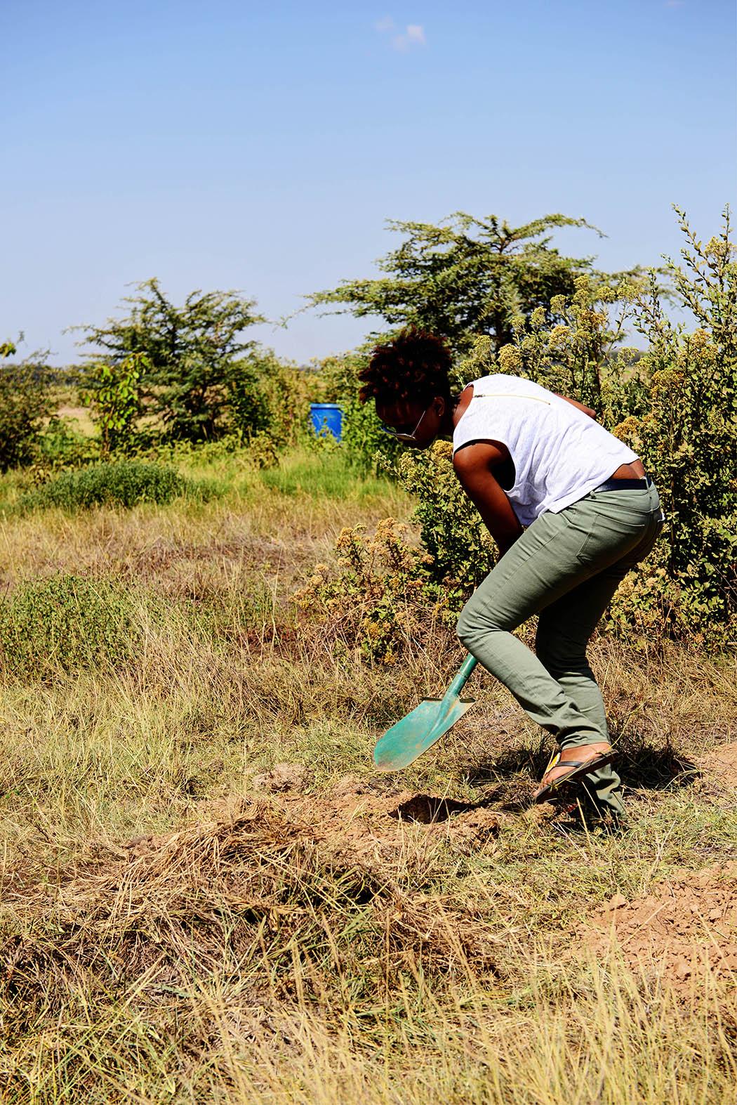 Amboseli Serena Safari Lodge_tree planting