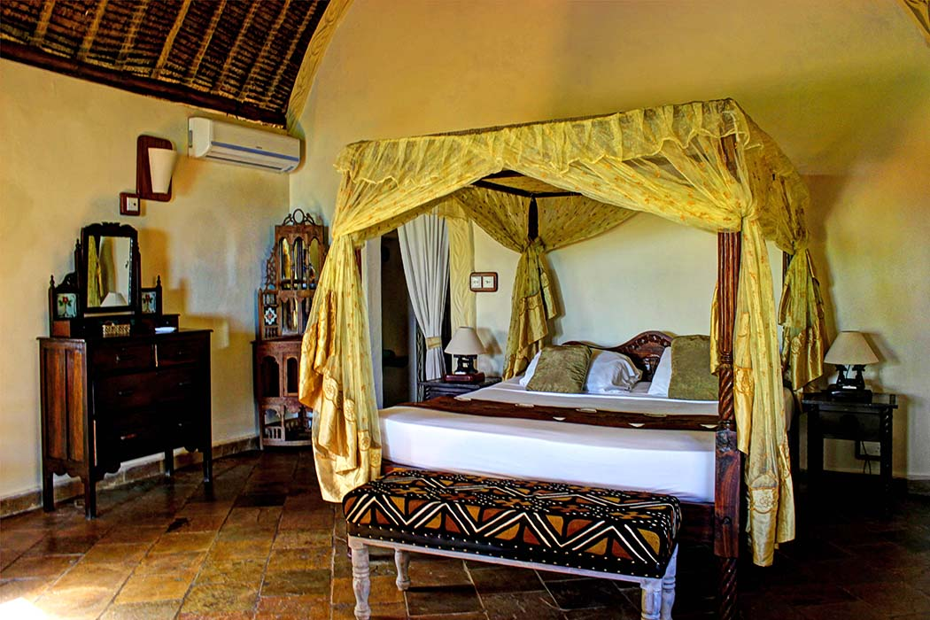 The Sands at Chale Island_bed