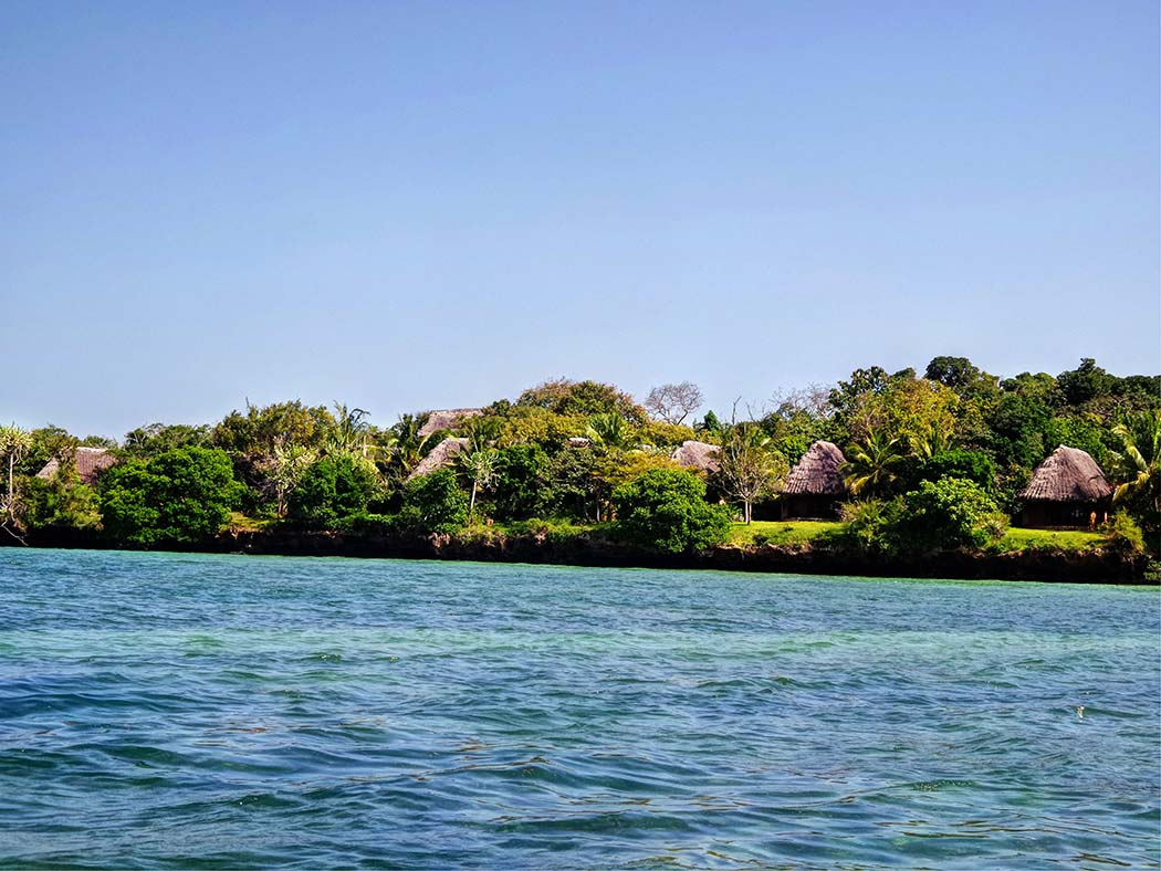 The Sands at Chale Island_view from mainland
