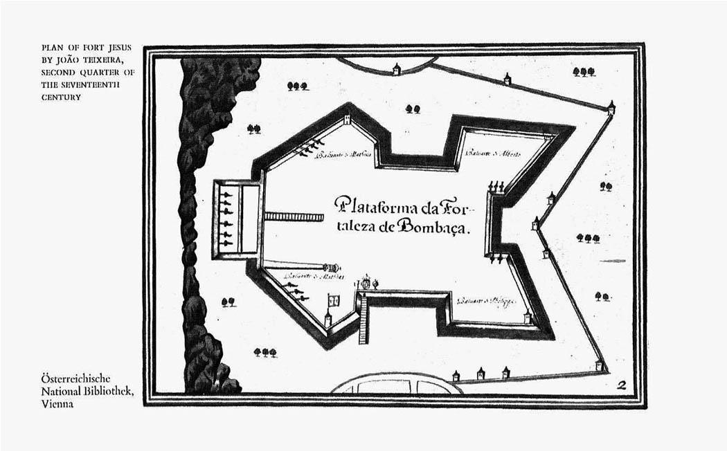 Fort Jesus Mobasa_plan