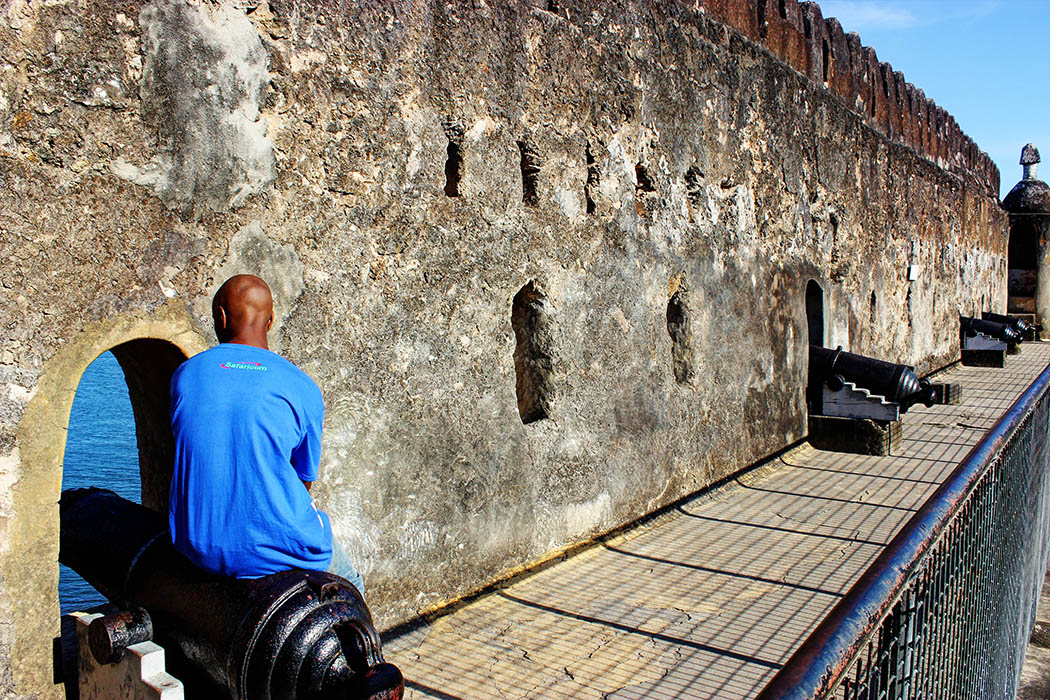 Fort Jesus Mombasa_brother