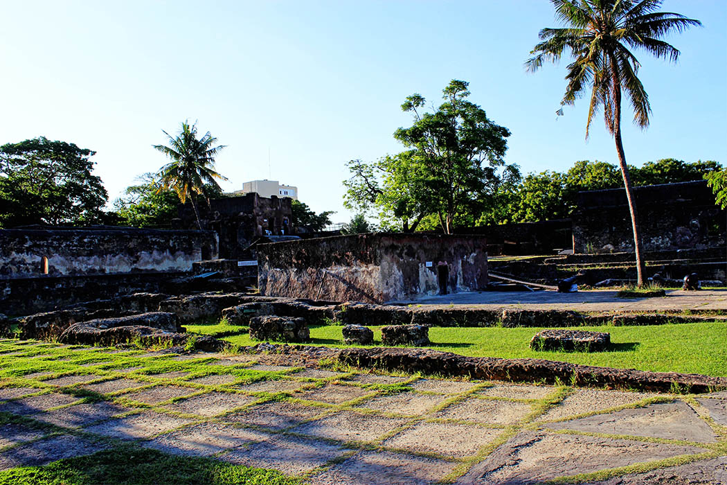 Fort Jesus Mombasa_courtyard
