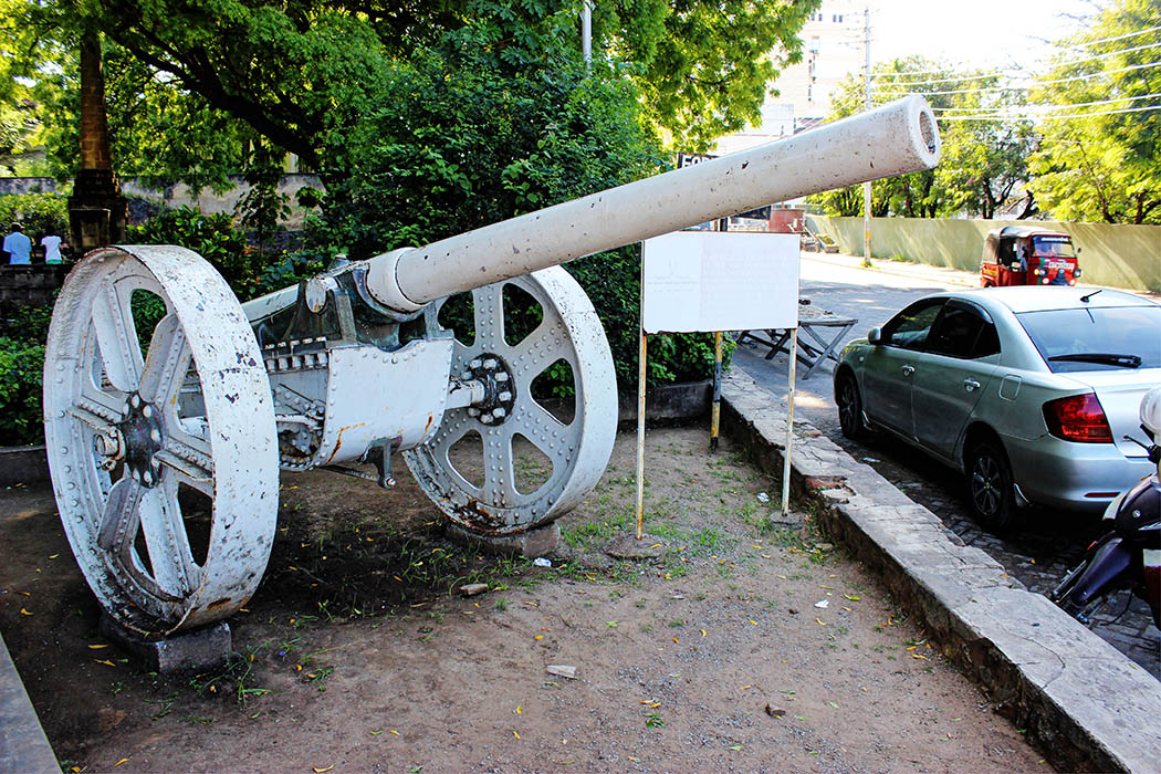 Fort Jesus Mombasa_thin cannon