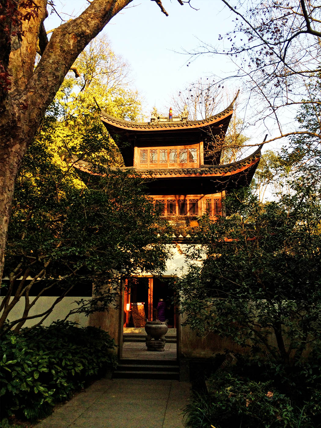 Hangzhou_Temple at Sunset