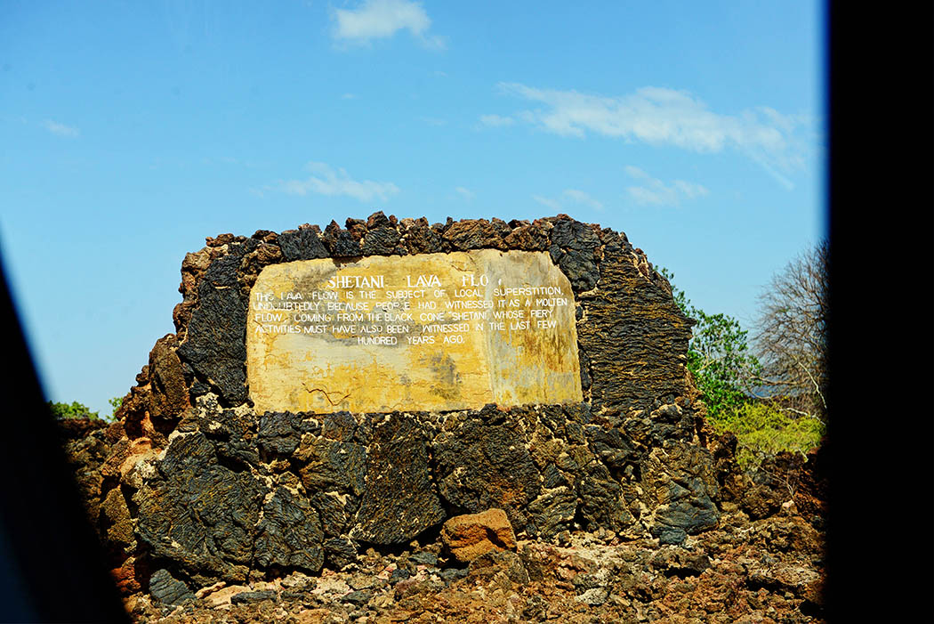 Tsavo West National Park_Shetani lava sign
