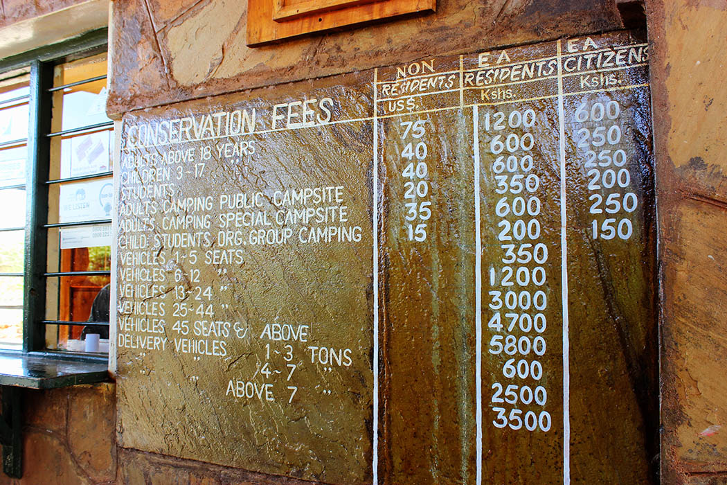Tsavo West National park_Charges