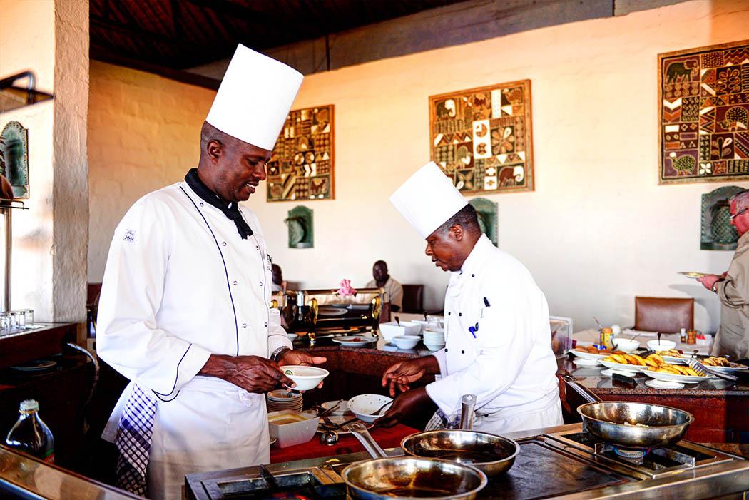 Kilaguni Serena safari Lodge_chefs