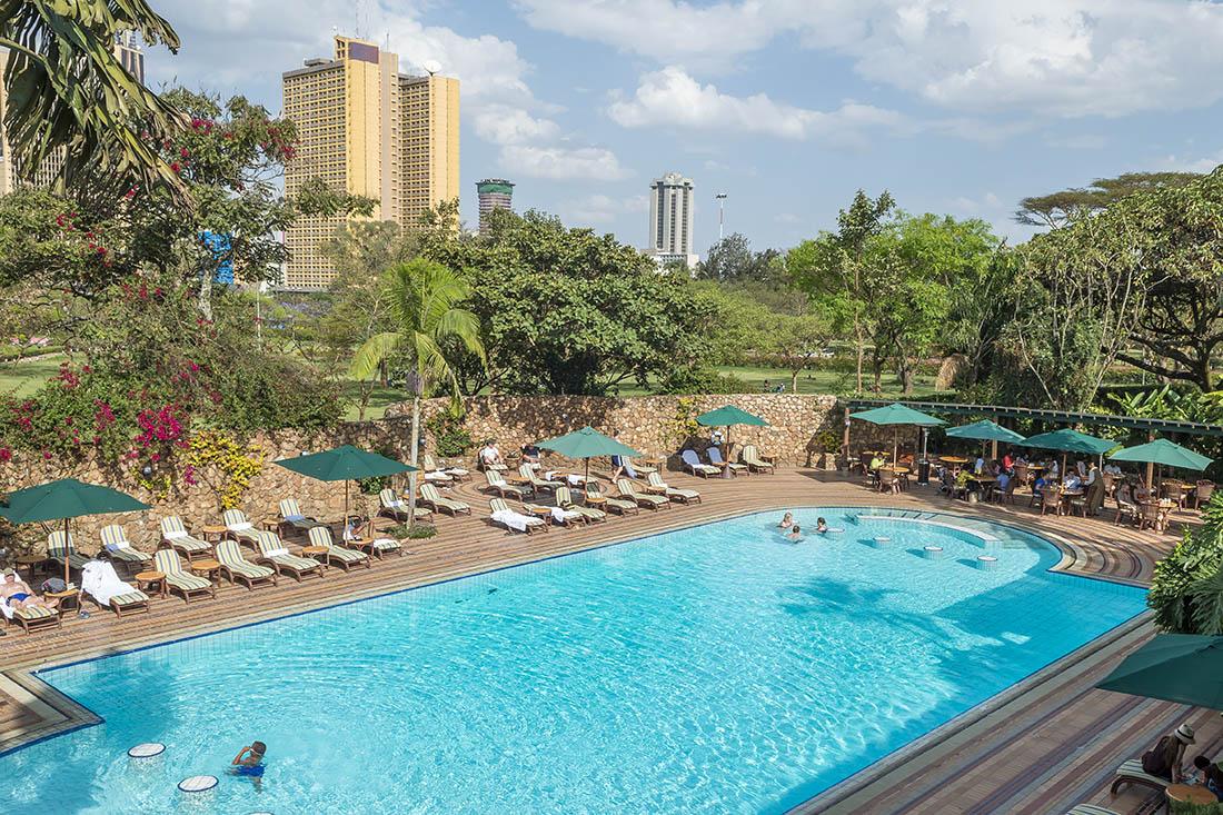 Nairobi Serena Hotel_Pool area