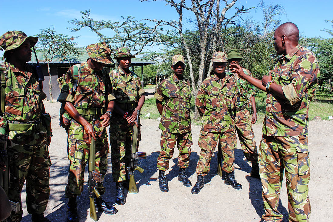 Ol Pejeta Conservancy_security team