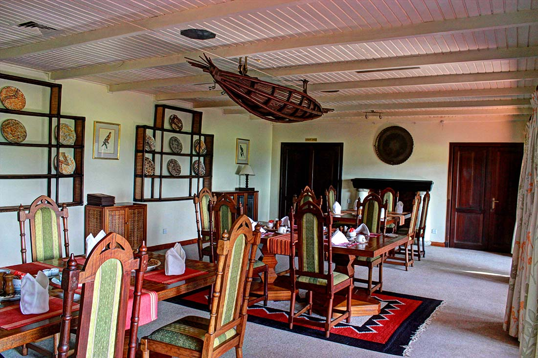 Ol Pejeta House_Dining room