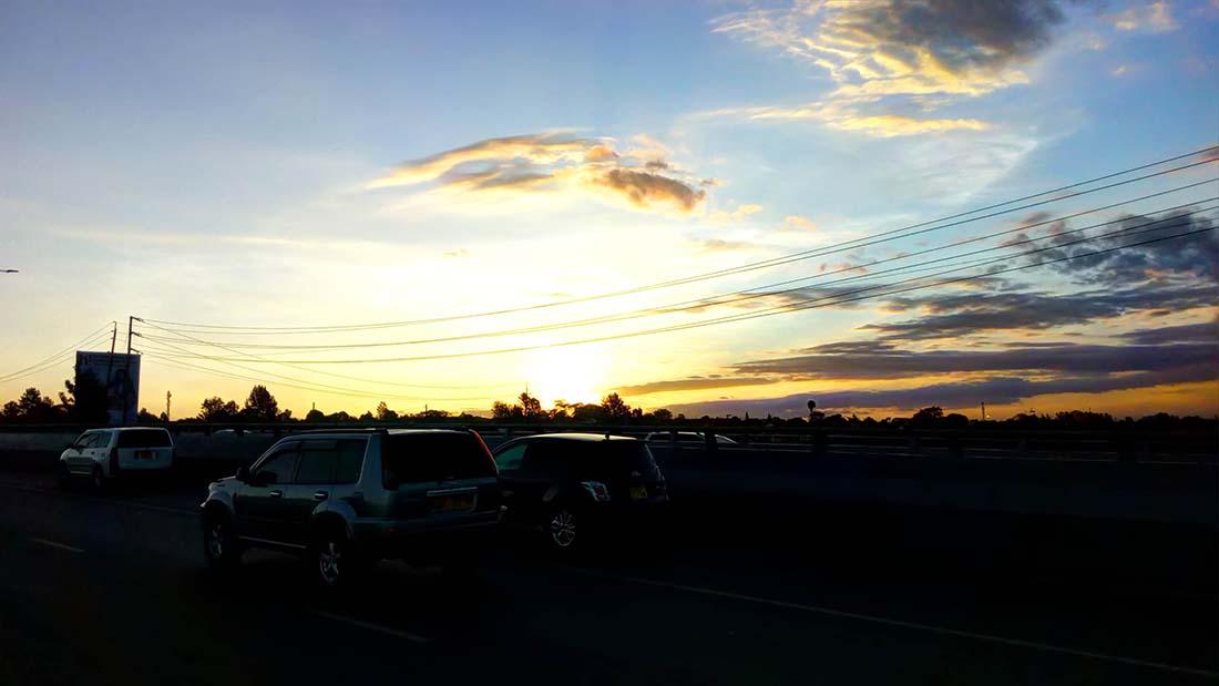 TECNO Camon C5 Review_Langata Road_Sunset 3