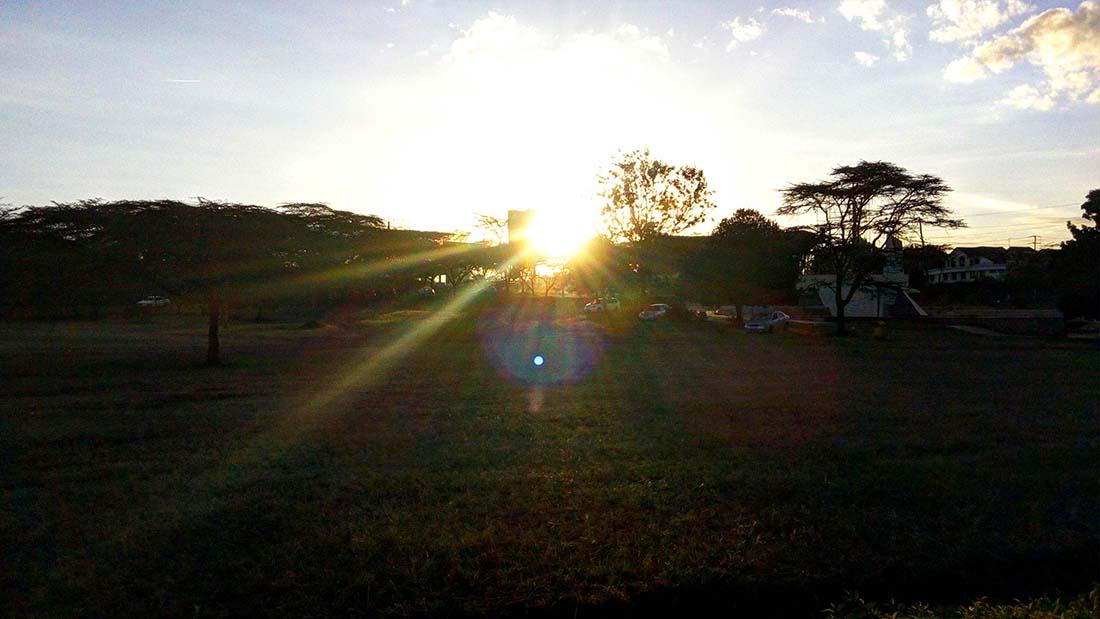 TECNO Camon C5 Review_Uhuru gardens_sunset
