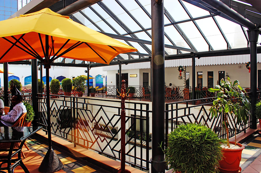 Sarova Stanley_Poolside restaurant