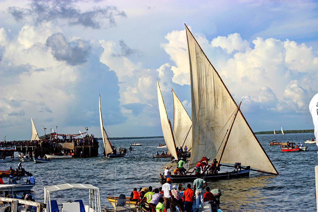 dhow race highlight of the Lamu Cultural Festival