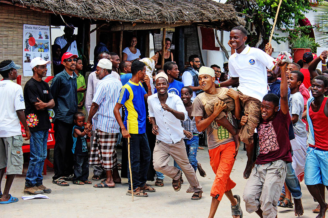 Lamu Cultural Festival_donkey race winner