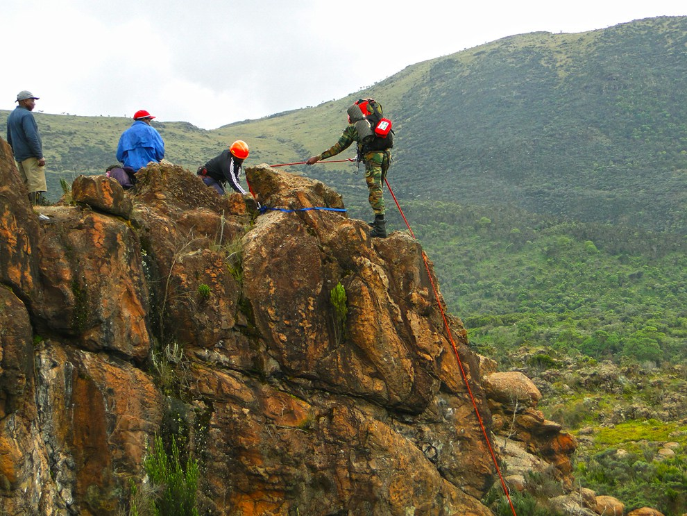 Aberdare National Park_rock climbing
