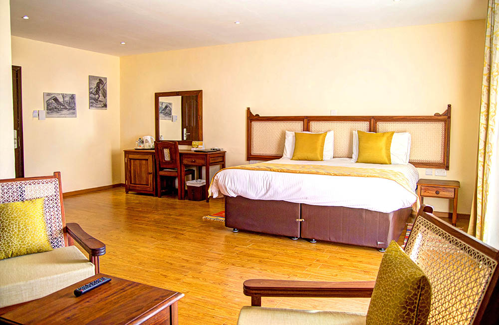 Panari Resort_bed