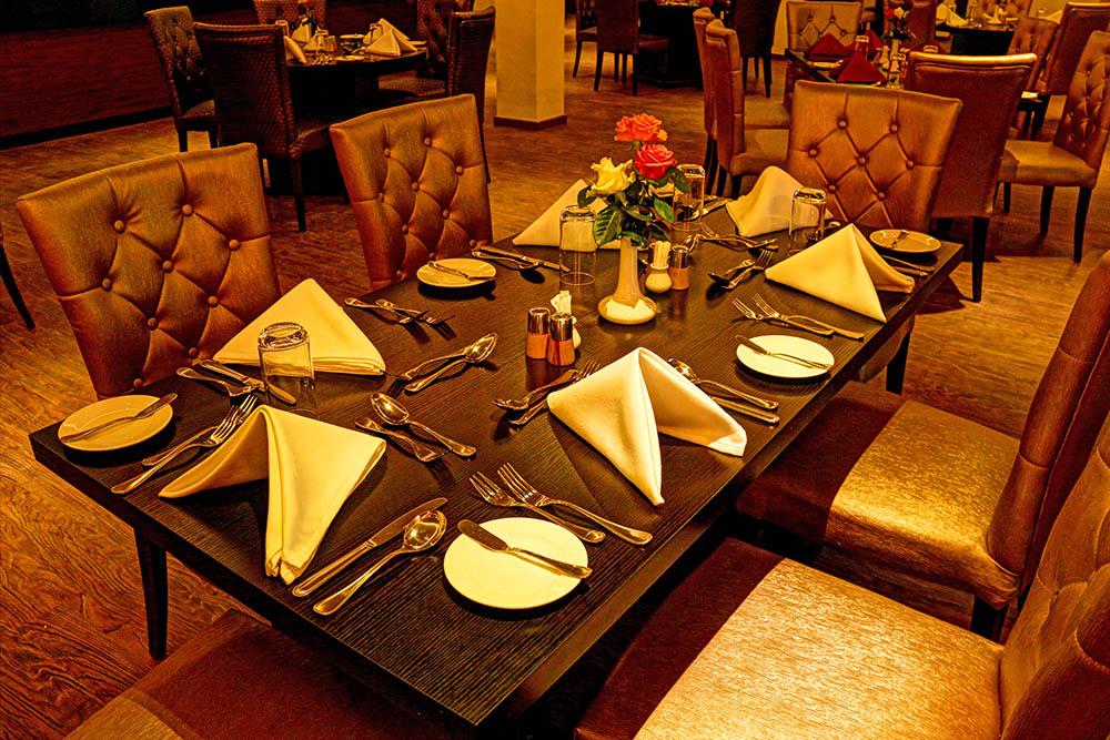 Panari Resort_dinner layout